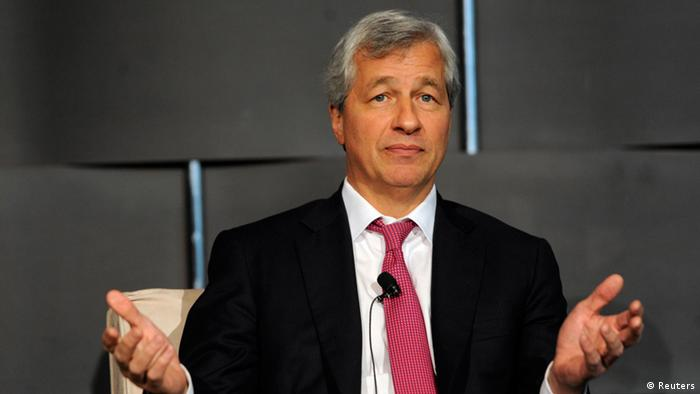 Jamie Dimon, chairman and chief executive of JP Morgan Chase and Co, speaks at the 2012 Simon Graduate School of Business' New York City Conference in New York May 3, 2012. REUTERS/Keith Bedford (UNITED STATES - Tags: BUSINESS EDUCATION)