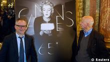 تییری فرمو، مدیر هنری (چپ)، و ژیل ژاکوب، مدیر جشنواره کن