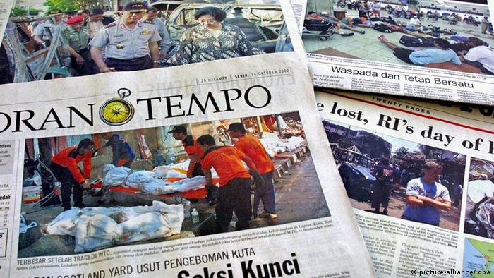 Zeitungen in Indonesien