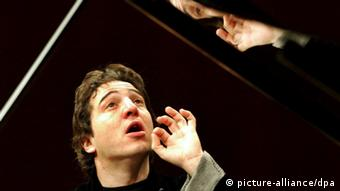 Turkish born pianist Fazil Say performs during a concert at the Lucerne Festival Piano