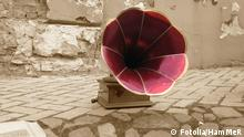 Grammophon Symbolbild Musik