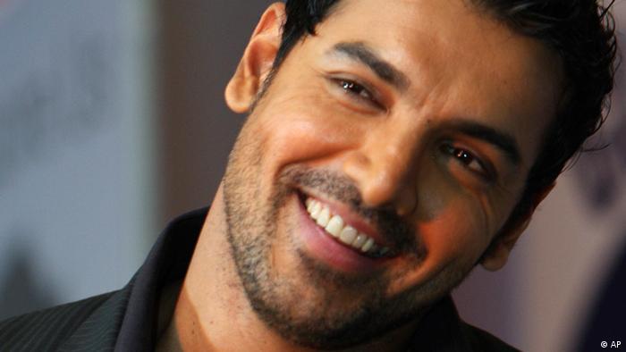 Indien Bollywood Schauspieler John Abraham (AP)