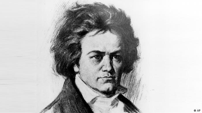 A print of Beethoven Copyright: ddp images/AP Photo