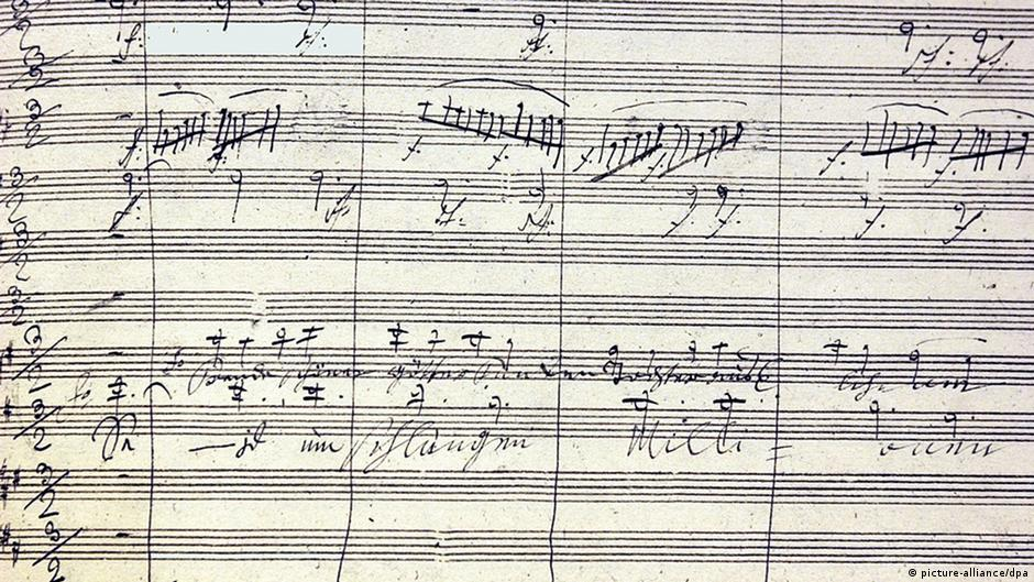 10 things you didn′t know about Beethoven | Music | DW | 02 09 2015