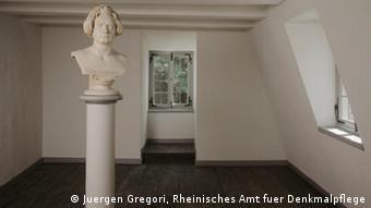 Σε αυτό το δωμάτιο γεννήθηκε ο Μπετόβεν, μάλλον στις 16 Δεκεμβρίου του 1770
