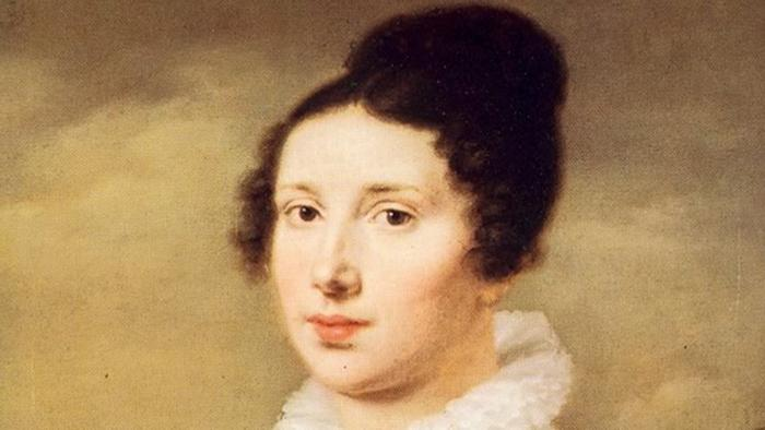 Elisabeth Röckel, portrait by Möller around 1814
