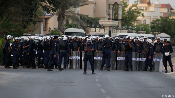 پلیس بحرین (عکس از آرشیو)