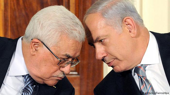 Mahmud Abbas und Benjamin Netanjahu bei Nahost-Friedensgesprächen