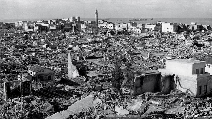 Al-Manshija, arapska četvrt grada Jaffa, nakon odlaska Palestinaca je u potpunosti razorena