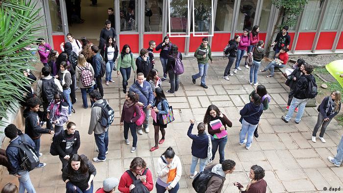 Brasilien Bildung Universität in Sao Paulo Zulassung positive Diskriminierung