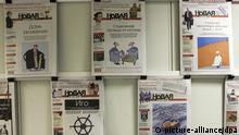 Die Redaktionsräume der Zeitung Nowaja Gaseta in Moskau, aufgenommen am 10.06.2009. Die Nowaja Gaseta, für die auch Anna Politkowskaja schrieb, ist eine der wenigen unabhängigen Zeitungen Russlands. Foto: Arno Burgi dpa +++(c) dpa - Report+++