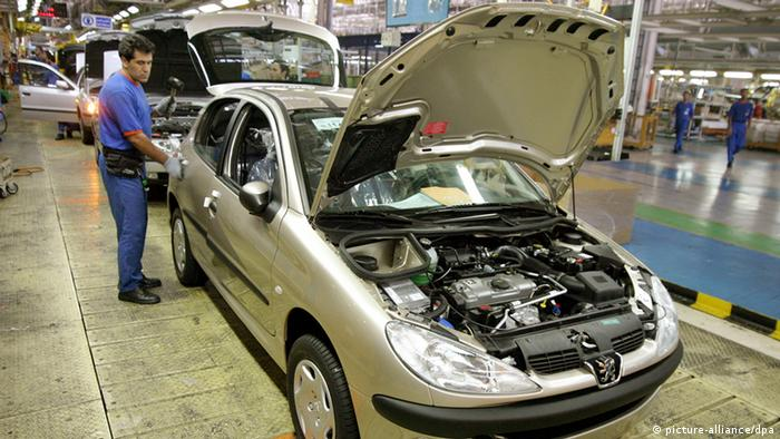 خط تولید سمند از شرکت ایران خودرو