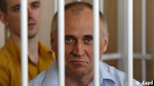 Weißrussland Opposition Anklage gegen Nikolai Statkewitsch erhoben in Minsk