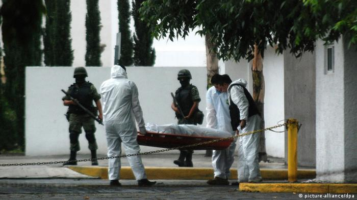 victim in Mexico's drug war dpa - Bildfunk+++