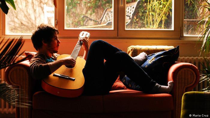 Diego beim Couchsurfing