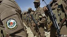قطعه ای از نیروهای پولیس محلی در افغانستان