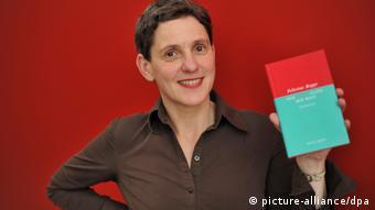 Felicitas Hoppe , aufgenommen am 16.10.2009 auf der 61. Frankfurter Buchmesse in Frankfurt am Main.
