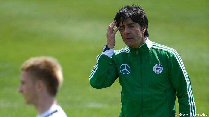 El entrenador Joachim Löw tiene preparados 10 días de fútbol para la concentración.