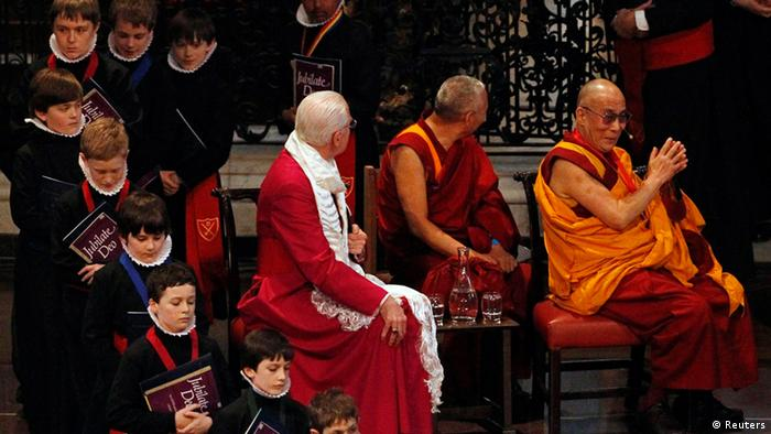 Dalai Lama in London