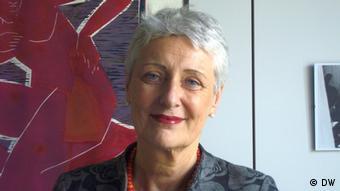 A woman with gray hair smiles at the camera.Marieluise Beck Copyright: DW/Silvera Padori - Klenke14.05.2012, Berlin