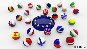Symbolbild Europa Wirtschaft Unterschiedliche Geschwindigkeiten