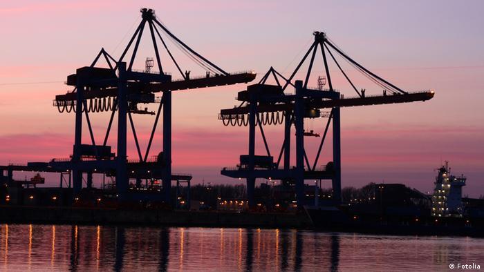 Symbolbild Europa Wirtschaft Export