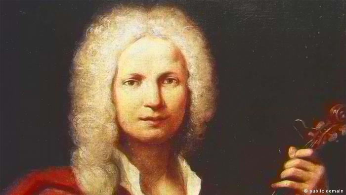 Antonio Vivaldi (1678-1741) Porträt. Antonio Lucio Vivaldi (* 4. März 1678 in Venedig; † 28. Juli 1741 in Wien) war ein venezianischer Komponist und Violinist im Barock. Quelle: Wikipedia Copright: public domain