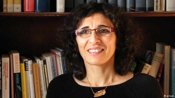 Pictured here is the Syrian sociologist Huda Zein from the University of Marburg. Copyright: privat ***ACHTUNG. Das Bild darf nur im Zusammenhang mit dem von Herrn Kersten Knipp geführten Interview verwendet werden.***