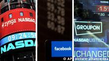 Internetfirmen Börsengang Internet Blase 2.0