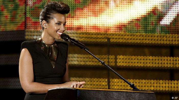 Alicia Keys Grammy Awards 2012