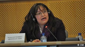 Soraya Gutiérrez Argüeyo Internatinale Liga für Menschenrechte
