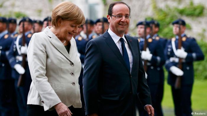 Treffen Merkel Hollande