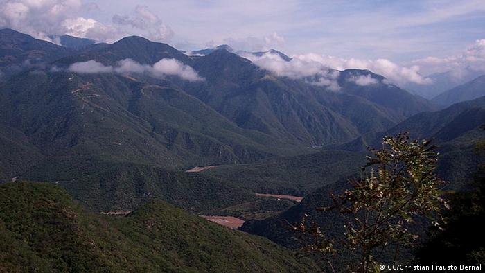 The Sierra Madre mountains in Mexico