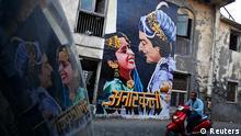 Anarkali Bollywood Werbung Graffitti