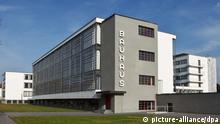 Bauhaus in Dessau UNESCO Weltkulturerbe (picture-alliance/dpa)