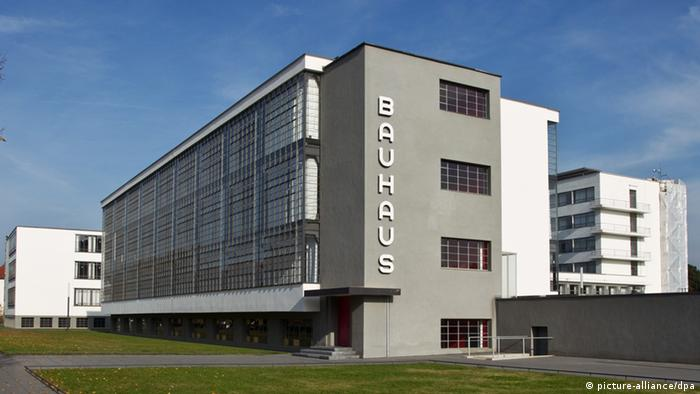 Bauhaus In Dessau UNESCO Weltkulturerbe (picture Alliance/dpa)