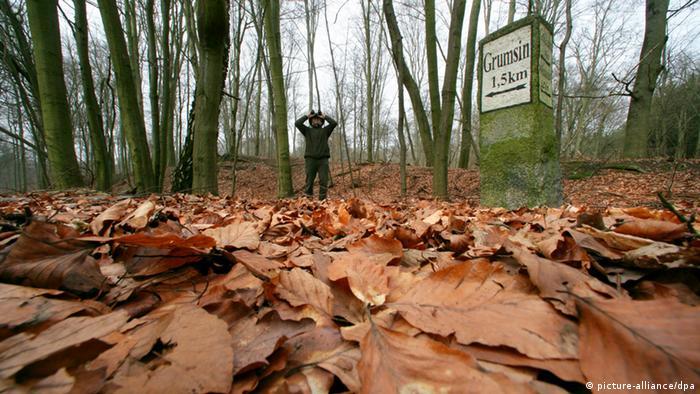 Guarda florestal na reserva de Schorfheide-Chorin: a partir do fim do século 19, um emprego cobiçado