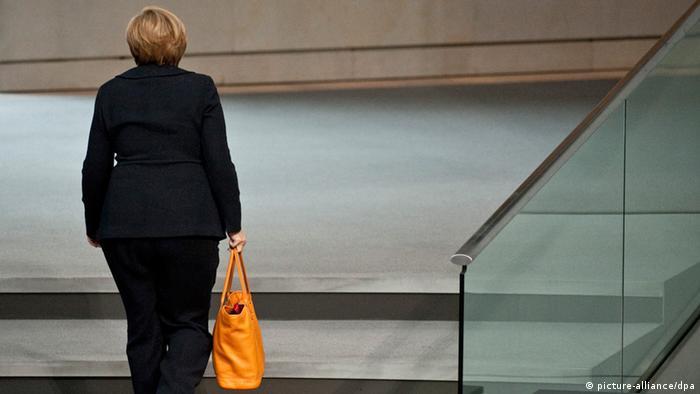 Angela Merkel Bundestag Regierungserklärung