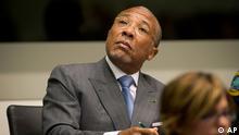 Charles Taylor ehemaliger Präsident Liberia Gerichtshof Den Haag