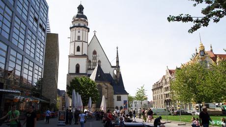 Die Leipziger Thomaskirche