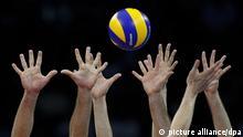 Volleyball Hände Ball