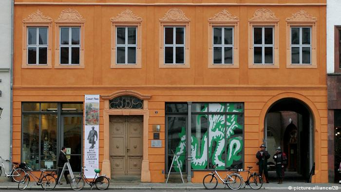 Cranachhof in Wittenberg eröffnet (picture-alliance/ZB)