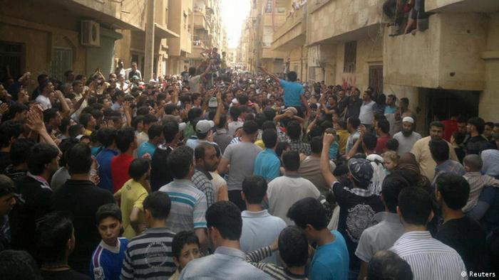 تظاهرات علیه رژیم بشار اسد در شهرهای سوریه همچنان ادامه دارد