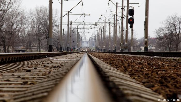 Old railways in Ukraine. © Masson - Fotolia.com 31208989