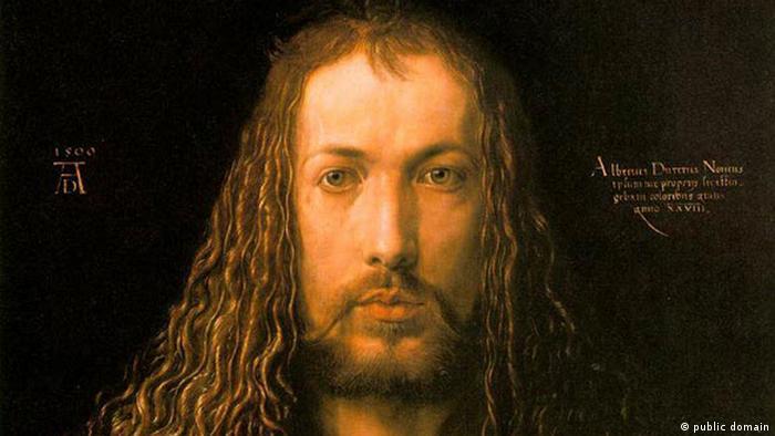 Albrecht Dürer Selbstporträt 1500
