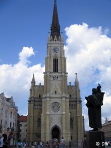 Vojvodina katholische Kathedrale in Novi Sad