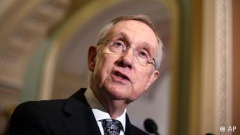 Porträt Harry Reid, Mehrheitsführer der Demokraten im Senat (Foto: AP)