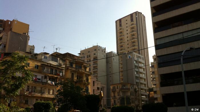 Libanon: Keine grüne Zone in Beirut, 17. Mai 2012; Copyright: DW/Dareen Al Omari