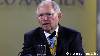 Wolfgang Schäuble Karlspreis