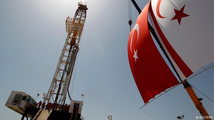 Türkei Start Ölbohrung auf Zypern